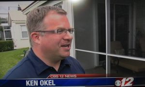 Ken Okel, TV News, Inteview